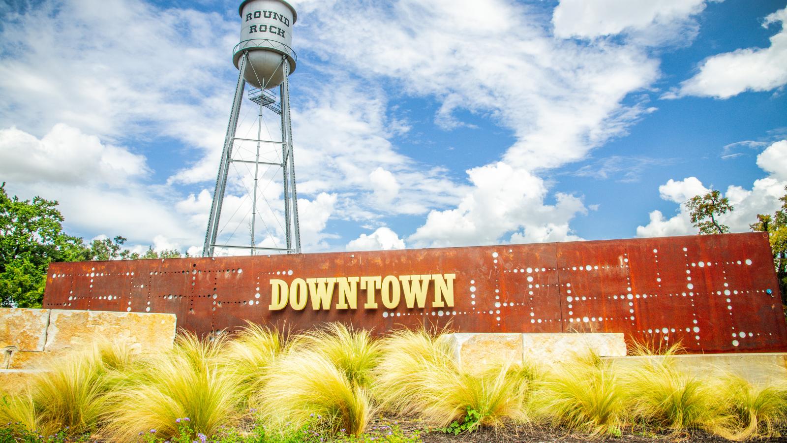 A photo of downtown Round Rock