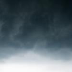 Summer storm in Austin, Texas